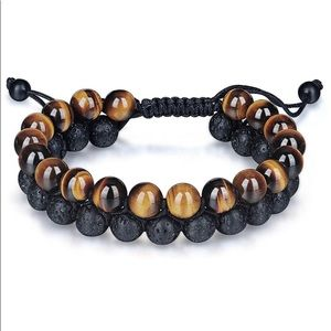 Tiger Eye Stone Bracelet Men Women - Natura